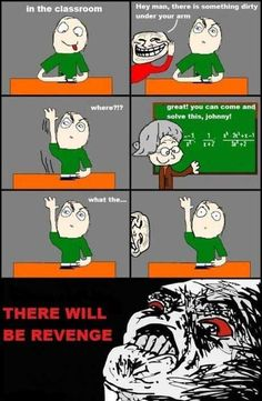 Classic troll in school