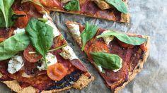 Sunn og smakfull pizza med serranoskinke - Vektklubb