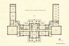 Filoli Main Floor Floor Plans Classic Pinterest