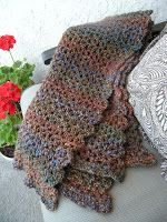 A Prayer Shawl is a tangible reminder of God's love.   I use a J hook and three skeins of Lion Brand Homespun yarn. It creates a great varie...