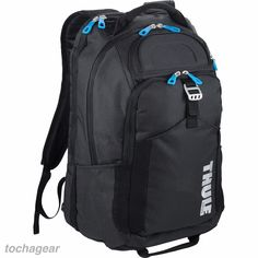 """NEW! Thule® Crossover 32L 15"""" MacBook Pro Backpack Travel Day Pack Carry on Bag #Thule"""