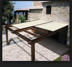 Commercial Louvered Patio Cover Like The Metal Posts And