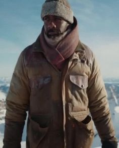 Idris Elba The Mountain Between Us Jacket Ben Bass, Daddys Little Girls, Idris Elba, Rib Knit, Military Jacket, Mountain, Sleeves, Jackets, Fashion