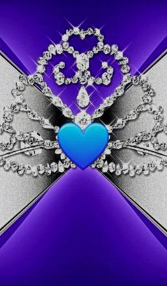 Bling Wallpaper, Luxury Wallpaper, Wallpaper For Your Phone, Purple Wallpaper, Heart Wallpaper, Cool Wallpaper, Wallpaper Backgrounds, Wallpaper Ideas, Shades Of Blue