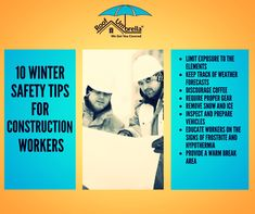 Pay special attention during the winter months at your construction site to avoid safety hazards. #RoofUmbrella #Safetytips #Roofsystems #Roofinstallation #Engineers #Roofing #Roofers #Rooferslife #Safeworking #Workersafety #Safeaccess #Workplacesafety #Safeaccess #WinterSafety