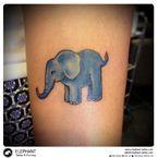 ELEPHANT TATTOO PIERCING