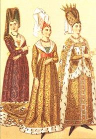 Medieval Fashion Glossary/Images.  14