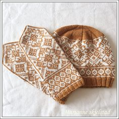 Ravelry: Påskekos pattern by Marianne Skjelstad Knitted Mittens Pattern, Knit Mittens, Knitting Socks, Knitting Stitches, Hand Knitting, Knitted Hats, Knitting Patterns, Diy Crochet And Knitting, Fair Isle Knitting