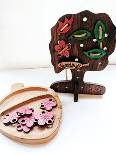 wooden lacing toy- Apple lacing toy - four season - christmas gift - montessori material -  waldorf toy - gift for kids - montessori toys by MirusToys on Etsy https://www.etsy.com/listing/475990881/wooden-lacing-toy-apple-lacing-toy-four