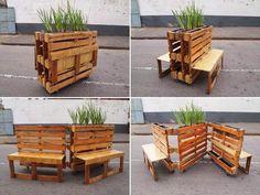 Muebles de palets: Arte
