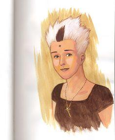 Jean Okada: Sketchbook - Alice