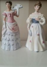 Home Interiors HOMCO Figurine - Victorian Lady- 1421 & Belle 1463