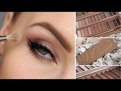 URBAN DECAY NAKED 3 EYESHADOW PALETTE TUTORIAL - YouTube