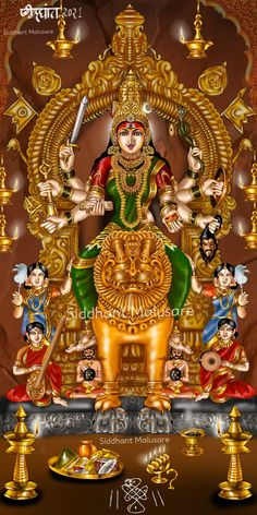 Shiva Parvati Images, Durga Images, Shiva Shakti, Maa Durga Image, Durga Maa, Hindu Deities, Hinduism, Lord Shiva Sketch, Mysore Painting