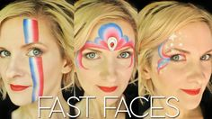 July 4th FAST Face Painting Design Tutorial - Find products shown here:http://www.facepaintforumshop.com/?Click=2590