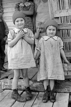 Mrs. Brown's grandchildren, Shenandoah National Park, Virginia, 1935