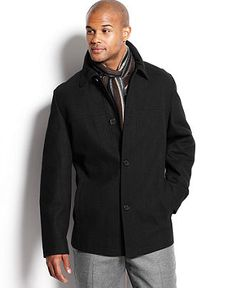Perry ellis overcoat
