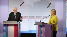 Hillary Clinton and Bernie Sanders on Thursday demanded reforms of the criminal justice system and vowed to alleviate the plight of African-American communities.