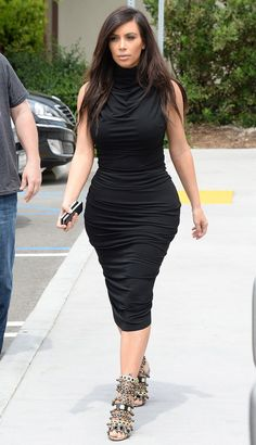 Kim shoots Keeping Up With the Kardashians in Los Angeles on April 17, 2014.  SplashNews -Cosmopolitan.com