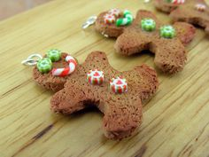 Gingerbread Man Charms - Side B by Shay Aaron, via Flickr