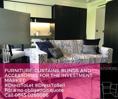 #DressToLet #DressToSell #InvestmentProperties #FamilyRunBusiness #Celebrating18Years #Furniture #Curtains #Blinds