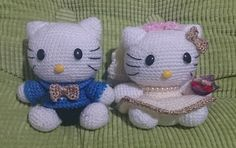 Amigurumi Wedding Kitty doll E Book / pdf by YourPatternShop, $5.00