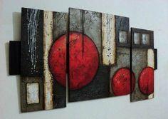 Cuadros Abstractos Con Texturas Y Alto Relieve - S/. 390,00 Simple Canvas Paintings, Beautiful Paintings, Abstract Canvas, Canvas Wall Art, Modern Art, Contemporary Art, Art Abstrait, Texture Painting, Large Wall Art