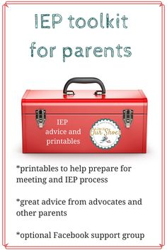 IEP toolkit for parents~8 printables and advice to get your ready for your IEP meeting