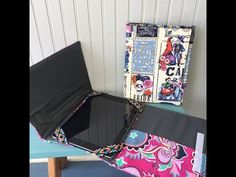 Hey y'all and welcome to Sewspire! Today I am here to show you how to sew a tri-fold cover that is designed to hold an iPad or similar sized tablet, pen and ...