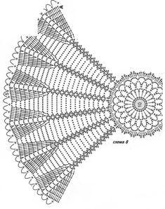 Crochet Patterns Filet, Crochet Skirt Pattern, Crochet Doily Diagram, Freeform Crochet, Thread Crochet, Crochet Stitches, Lace Doilies, Crochet Doilies, Crochet Home