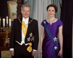 Presidentti Sauli Niinistö ja rouva Jenni Haukio itsenäisyyspäivänä 2016.