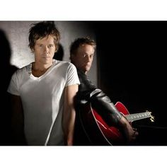 The Bacon Brothers. I love everything about Kevin Bacon. His movies & music.