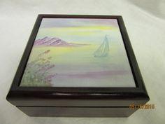 Jewelry Box Trinket Box  Keepsake Box by PorcelainChinaArt on Etsy