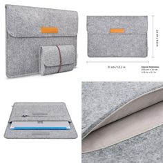 Tablet Sleeve Bag Cover Case for Microsoft Surface 3 Cellphone Earphones Wallet