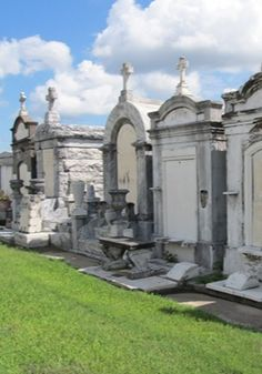Explore the cemetery in New Orleans.