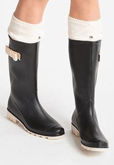 Cizme de cauciuc Sibera Negre Rubber Rain Boots, Shoes, Google, Fashion, Moda, Zapatos, Shoes Outlet, Fashion Styles, Shoe