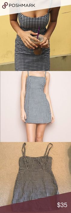 def0f0da55b Brandy Melville Gingham Karla dress So cute!! but too small for me  (