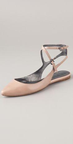Belle by Sigerson Morrison                                                                                                  Verena Leather Flats