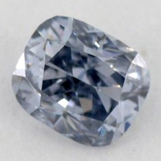Exclusive Fancy Gray Blue Diamond, Cushion, 0.17 carat, SI1.. I want one colored diamond, I really want a blue one but I am not holding my breath for that.