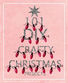 101 diy christmas crafts