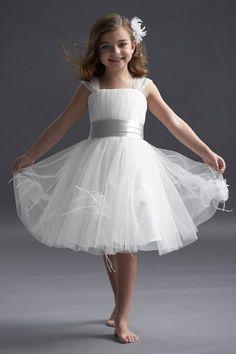 sweet flower girl's dress