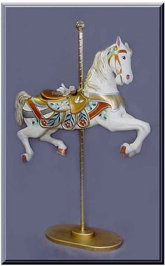 carousel horse for a little girls bedroom