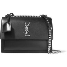 187484b0ec6d Saint Laurent Sunset medium leather shoulder bag (€1.545) ❤ liked on  Polyvore featuring