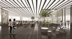 """Adidas Selects COBE to Design """"Rhombus-Shaped"""" Flagship Building in Germany"""