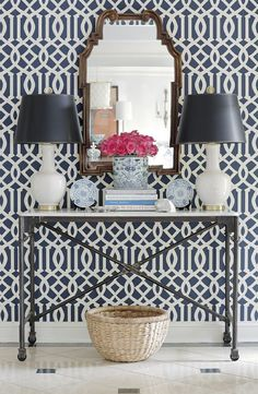 Geometric Pattern Self Adhesive Vinyl Wallpaper D223 on Etsy, $34.00