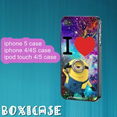 Despicable Me Minion,Nebula,Minion--iphone 4 case,iphone 5 case,ipod touch 4 case,ipod touch 5 case,cute iphone 4 case,cute iphone 5 case. by Boxicase, $14.95