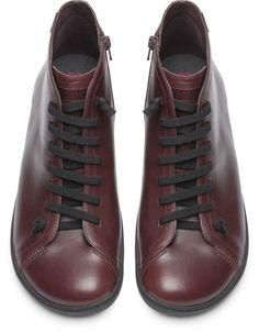 sports shoes caa6b 8d14c Camper Peu Burgundy Casual shoes Men 36411-075 Scarpe A Piedi Nudi, Scarpe  Casual