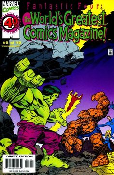 The Fantastic Four: World's Greatest Comic Magazine (vol 1) # 5