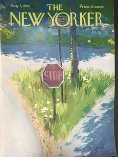 The New Yorker, New Yorker Covers, Magazine Art, Magazine Design, Magazine Covers, Vintage Magazines, Room Posters, Mural Painting, Illustrations And Posters