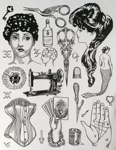 triple goddess tattoo - Google Search